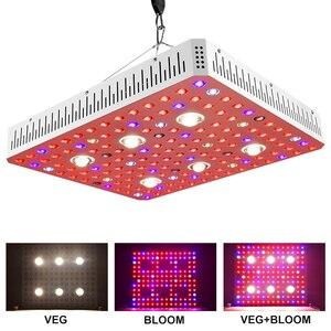 Image 3 - مفتاح مزدوج عكس الضوء الشمس 1000 واط 2000 واط 3000 واط COB رقاقة مزدوجة LED تنمو ضوء الطيف الكامل 410 730nm للنباتات الداخلية والزهور