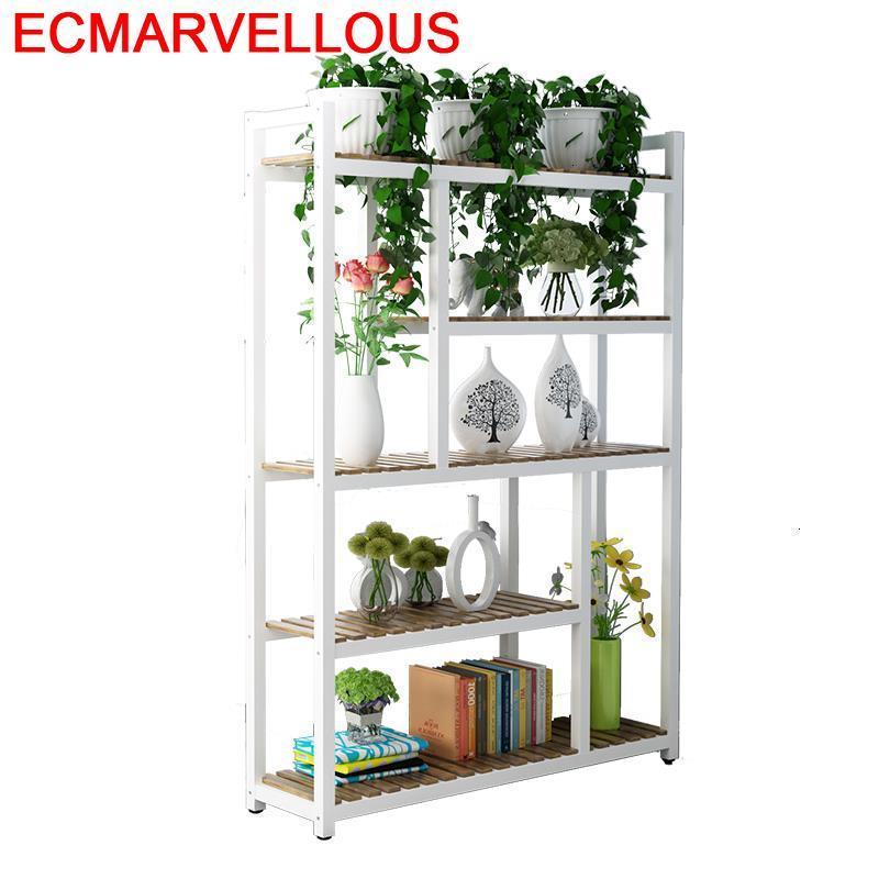 Estante Para Plantas Saksi Standi Suporte Flores Plantenstandaard Shelf Outdoor Flower Stojak Na Kwiaty Dekoration Plant Stand