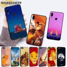 WEBBEDEPP Lion King Pumba Hakuna Silicone Case for Xiaomi Redmi Note 4X 5 6 7 Pro 5A  Prime