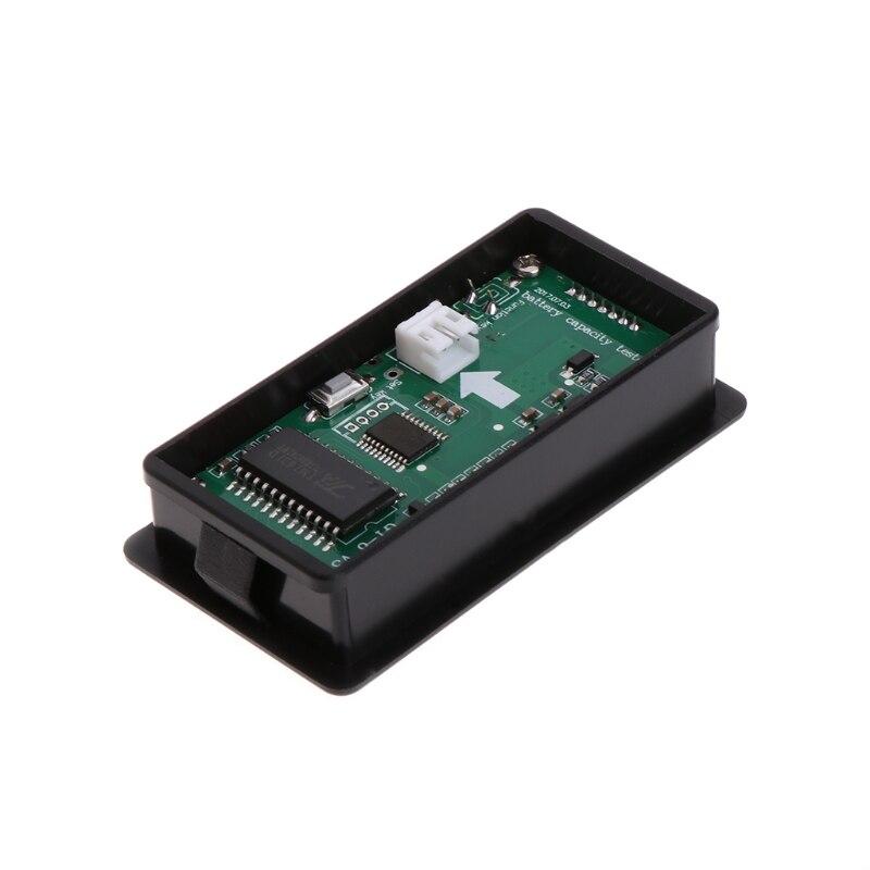 Livraison directe 8-70V bleu LCD plomb acide Lithium batterie indicateur de capacité voltmètre numérique testeur
