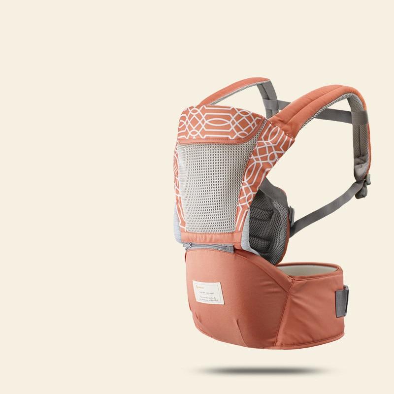 Breathable Baby Waist Stool Shoulder Straps Hold Seasons Multi-function Ergonomic Carrier Cangurera Baby Belt Hip Seat Sling