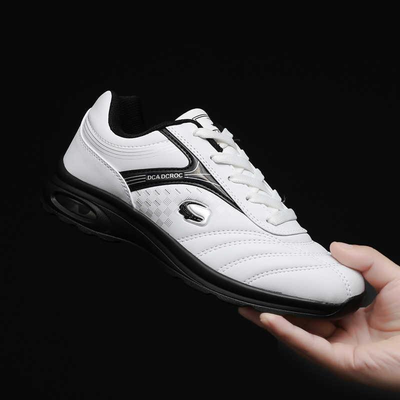 New Men's Golf Shoes Classic White