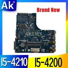 Новая Mainboard для For Lenovo Ideapad B50-70 материнская плата для ноутбука ZIWB2/ZIWB3/ZIWE1 LA-B091P I5-4200 2GB GPU