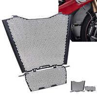 Para bmw s 1000 rr motorsport radiador e radiador de óleo guarda conjunto 2019 2020 grade radiador guarda capa óleo refrigerador moldura protetor