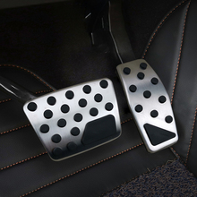For  Renegade JEEP newest Compass car pedal gas foot rest stainless modified pad non slip performance aluminium fuel