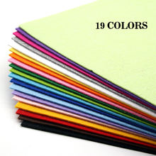 19 шт 2 мм войлочная ткань листы Нетканая ручная работа рукоделие