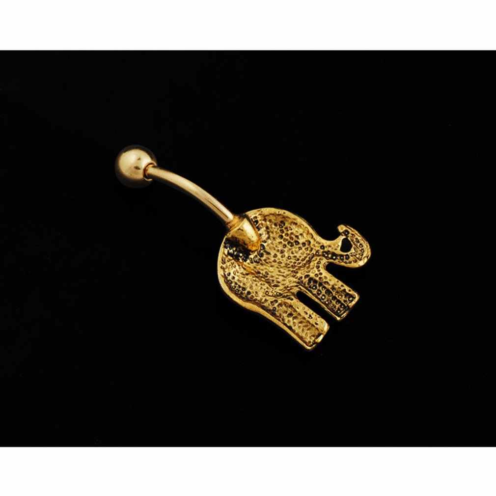היפואלרגנית פיל טבור קריסטל ריינסטון טבור טבעות בר טבור פירסינג זירקון נשים זהב גוף סקסית