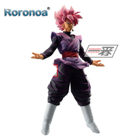 Roronoa Original Banpresto ICHIBANSHO FIGURE Dragon Ball Super Rose Black Goku Action Figures Collectible Model Toys Figurals