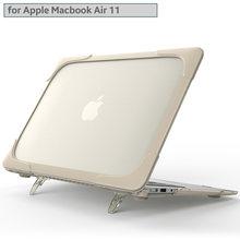 Новый Ударопрочный Внешний чехол Складная подставка для macbook