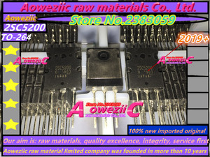 Image 5 - Aoweziic 2019 + 10 قطع = 5 زوج 100% جديد المستوردة الأصلي 2SA1943 2SC5200 A1943 C5200 TO 3P عالية الطاقة الصوت مكبر كهربائي أنبوب