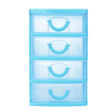Durable Plastic Storage Case Box Mini Desktop Drawer Sundries Case Small Objects with Drawers Cosmetic Organizer Cases and Box cheap OLOEY OM-190544 100 kg TOOLS Eco-Friendly 120L Glossy Office Organizer Modern ROUND storage container storage box plastic box