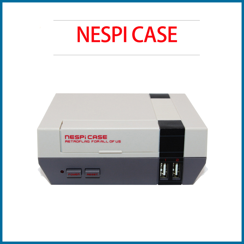 S ROBOT NESPI Pro Case Retro Game Case With RTC Function With Screwdriver For Raspberry Pi 3B+3B/2B RPI175