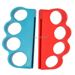 Image 2 - Nintend Switch Boxing Fitness Strap Boxing Handle Grip for Nintendo Switch NS Boxing Enhance Game Experience (Red+Blue)