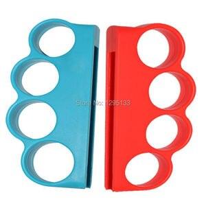 Image 2 - Nintendo anahtarı boks spor askı boks kolu kavrama Nintendo anahtarı NS için boks geliştirmek oyun deneyimi (kırmızı + mavi)