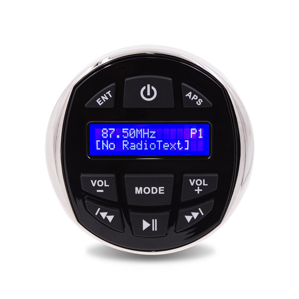 Waterproof Marine Radio Stereo Audio Bluetooth FM AM DAB Media Receiver MP3 Player For Boat Pool ATV UTV Motorcycle Golf Cart
