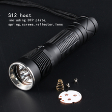 Convoglio S12 flashlight host
