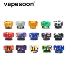 цена на Colorful Resin 810 Drip Tip for 810 Atomizer e-Cigarette Vape Vaporizer Ello Duro TFV12 Prince TFV16 Lite Tank etc