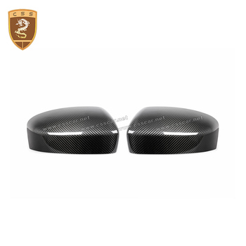 real carbon fiber Mirror cover For Maserati Levante M157 Carbon Fiber Mirror Cover Mirror Caps 2016+ Car Styling side caps