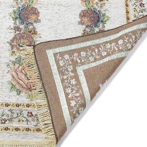 Image 3 - Home Portable Gifts Folding Exquisite Soft Anti Slip Decoration Bedroom Floral Rug Kneeling Light Weight Prayer Mat Cotton Blend