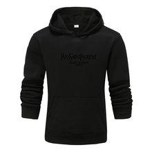 Зимняя мужская одежда для женщин брендовая во Франции толстовка