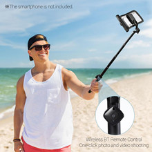 Selfie Stick Waterproof Dry Bag Cell Phone Pouch Case & Extendable with BT Remote Control Lanyard for iPhone Samsung Huawei(China)