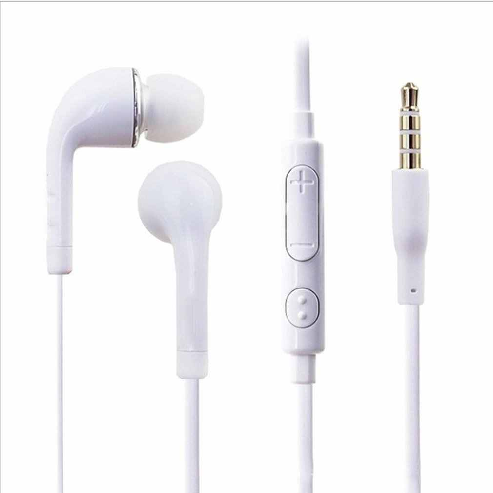 Baru Stereo Bass Earphone Headphone dengan Mikrofon Wired Gaming Headset untuk Ponsel Samsung Xiaomi iPhone Apple Telinga Ponsel