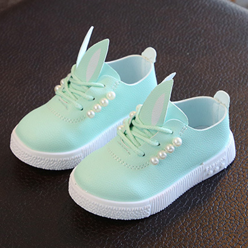 Girls Princess Shoes for 3-9 Years Old,Girls Kids Cute Cartoon Ears Soft Sole Sneakers Lightweight Running Shoes