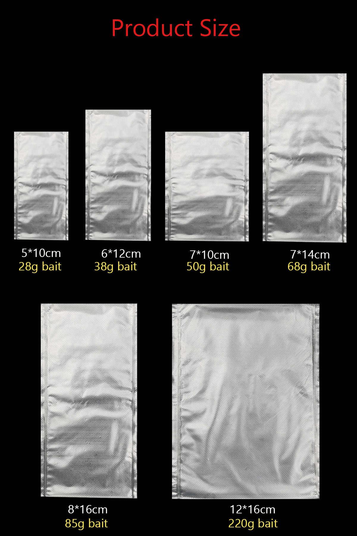 100 Stücke PVA Karpfenangeln Taschen Schnelle Wasserlösliche Köder Tasche