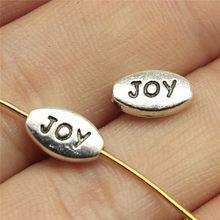 WYSIWYG – perles joyeuses européennes, lot de 40 pièces, 10x6mm, pour la fabrication de bijoux