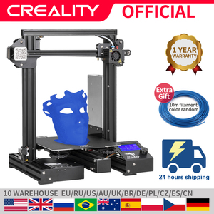 CREALITY 3D Ender-3 PRO Printing Masks Upgraded Magnetic Build Plate Resume Power Failure Printing DIY KIT MeanWell Power Supply(China)