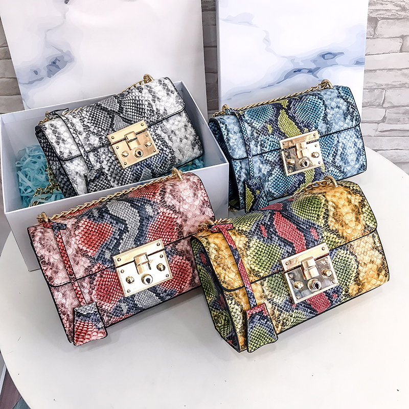 H98a072d8c4214274bdc02eb9d7628f33C - Luxury Handbag  Bags For Women  Leather Flap Clutch Purse Chain Serpentine Ladies Shoulder Messenger Bags Sac A Main