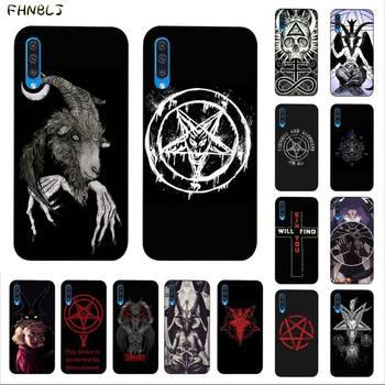 FHNBLJ Devil Satan Newly Arrived Black Cell Phone Case for Samsung A10 20s 71 51 10 s 20 30 40 50 70 A30s cover devil s bridge
