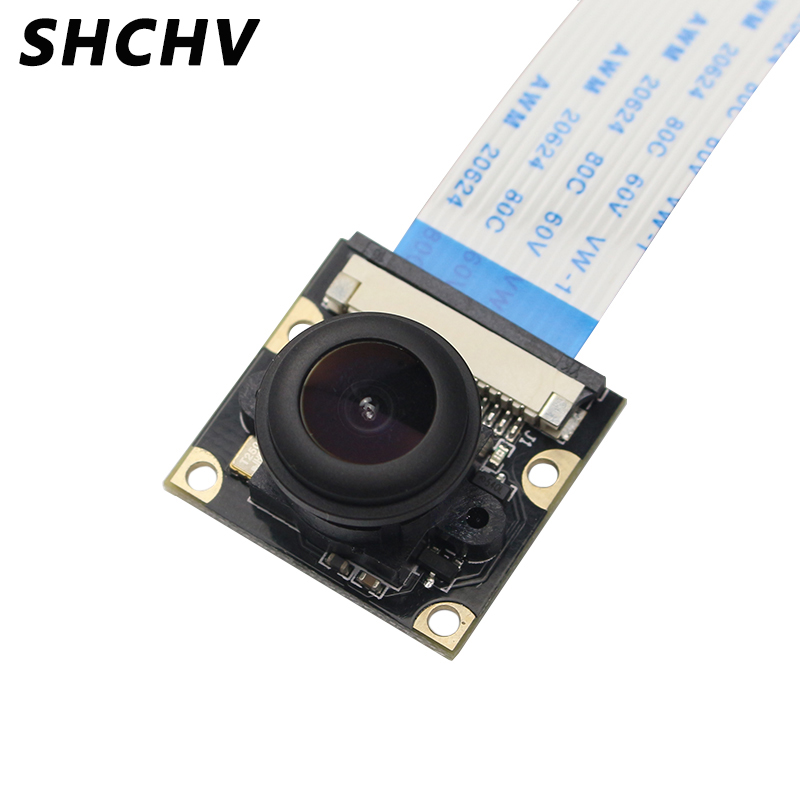 Raspberry Pi 4 Model B Camera 5MP 1080P Night Vision Wide Angle Fisheye 130 160 Degree Camera Compatible Raspberry Pi 4B 3B  3B