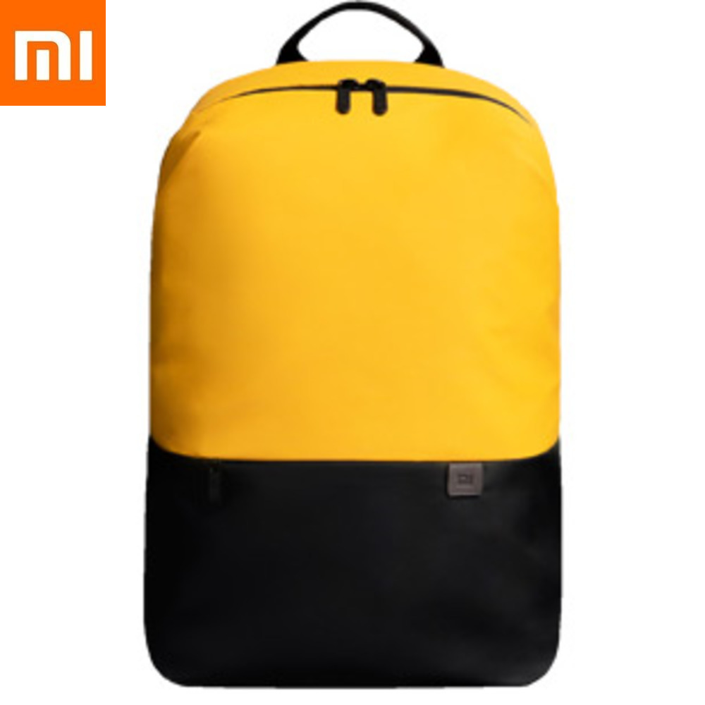 Xiaomi simple casual backpack Mochila Mochilas Bagpack School Bags Xiomi Mijia Ice fabric Kanken For Men Women Travel Outside image