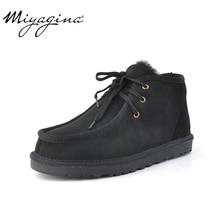 Модные зимние мужские ботинки Beckham; зимняя обувь на шнуровке; Натуральная овечья кожа; натуральная шерсть; Полусапоги на меху;