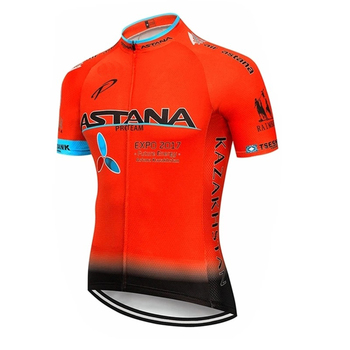 2020 preto astana roupas de ciclismo bicicleta jérsei secagem rápida dos homens roupas verão equipe ciclismo jérsei 9dgel bicicleta shorts conjunto 17