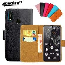 Black Fox B8Fox Case 6 Colors Flip Slots Leather Wallet Case