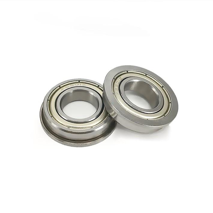 20pcs ABEC-5 F6904ZZ Flanged thin wall bearing F6904 F6904-2Z shielded flange deep groove ball bearings 20x37x9 mm
