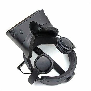1pair Enclosed VR Game Headphone for Oculus Quest/ Rift S for PSVR VR Headset Wired Earphone Left Right Separation VR Headphones 2