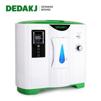 DEDAKJ German Brand 2L-9L Portable Oxygen Concentrator Low Operation Noise Oxygen Generator Home Care Oxygene Machine
