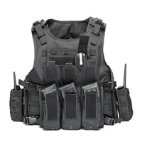 2019 Military Tactical Vest Camouflage Body Armor Sports Wear Hunting Vest Army Molle police bulletproof Vest