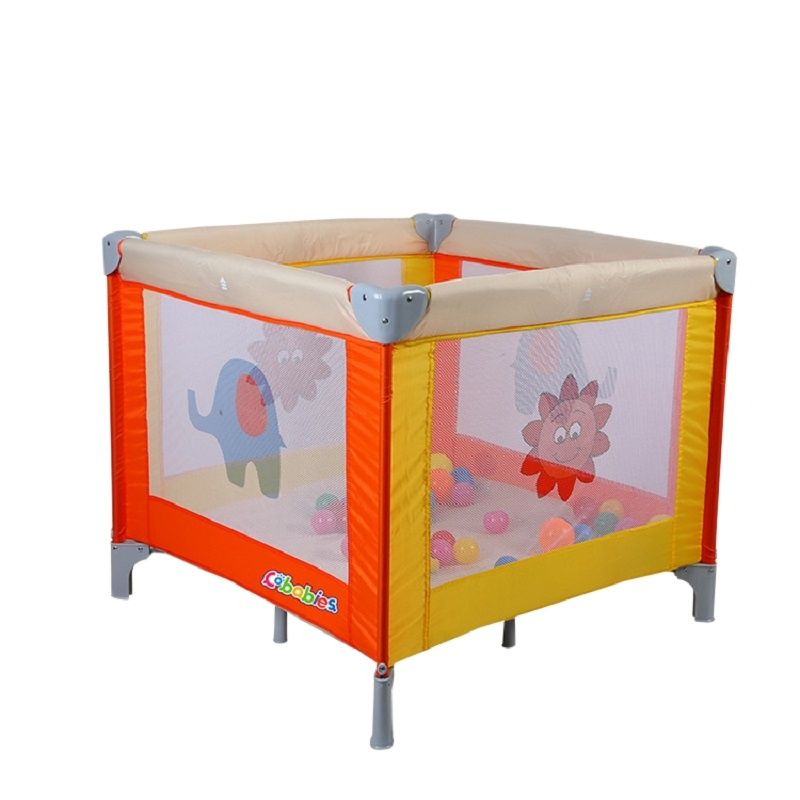 European Baby Game Bed  Multifunctional Baby Bed Folding Portable Cartoon Bed For Children