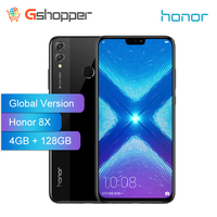 Global Version Honor 8X 4GB 128GB 6.5 Inch OTA update Smartphone Mobile phone Android 8.1 Octa Core fingerprint ID