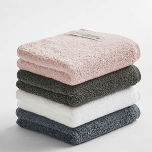 Combed-Towel Pure-Cotton Adult Plain Wash New