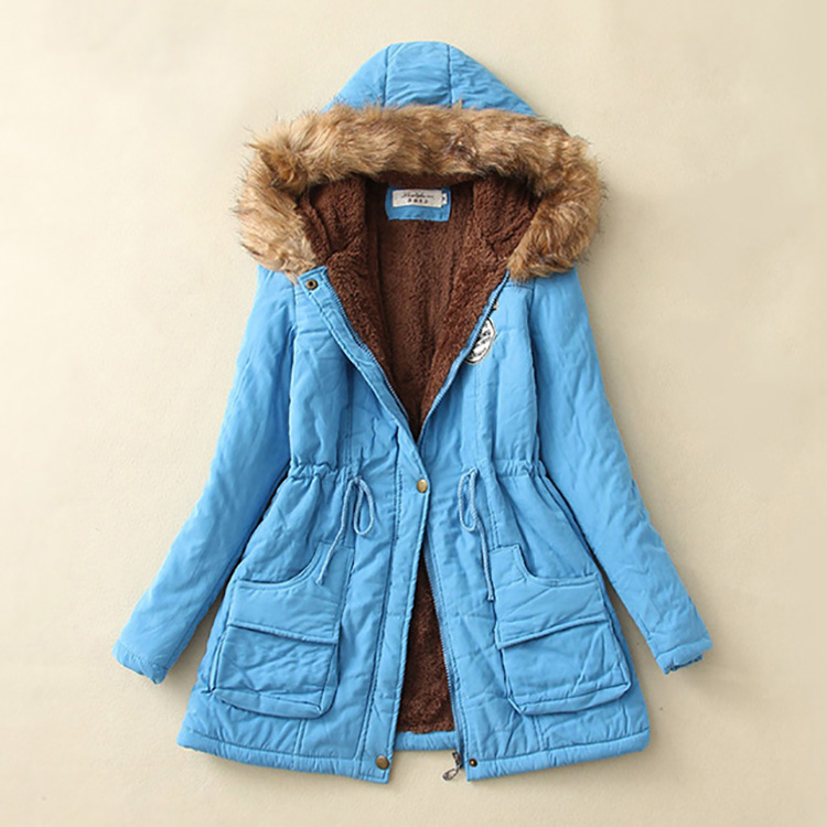 19 Parka Women Jacket Women Winter Coat Women Warm Hooded Women Parka Female Jacket Long Coat Parkas 16 Colour Free Shipping 31