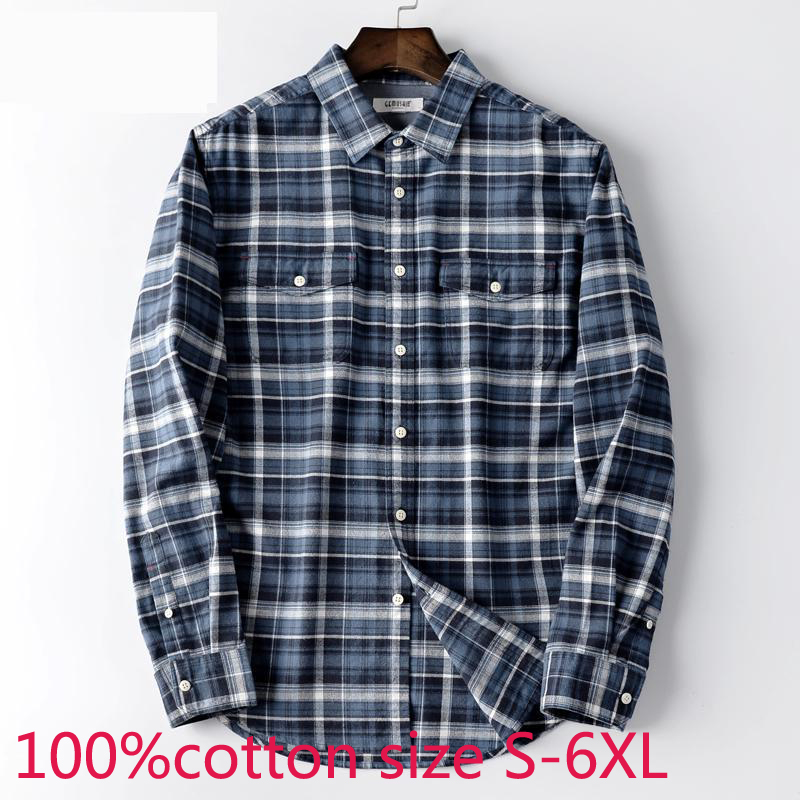 Esast Men Fashion Regular Fit Short Sleeve Plaid Flannel Shirts Button Down Shirts