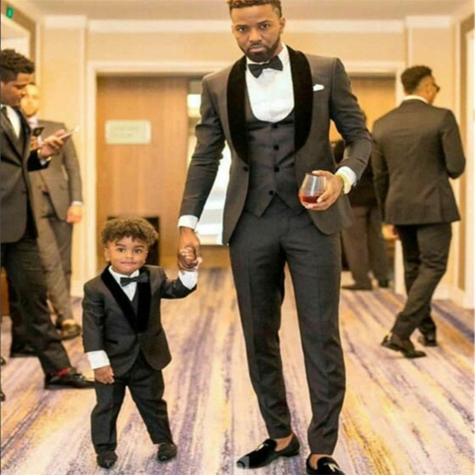 New Classic Men's Suit Smolking Noivo Terno Slim Fit Easculino Evening Suits For Men  Black Suit Formal Tuxedos Prom Groomsmen