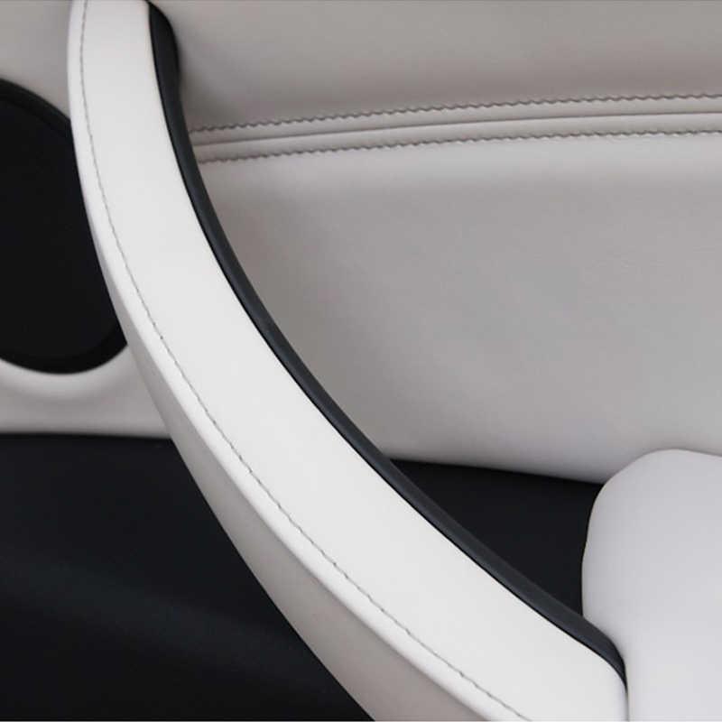 Auto bracciolo anteriore sinistro sedile del conducente CON GUIDA A SINISTRA Maniglia Interna Della Porta Pannello Interno Tirare Trim Copertura Per BMW E70 E71 x5 X6 2007-2014