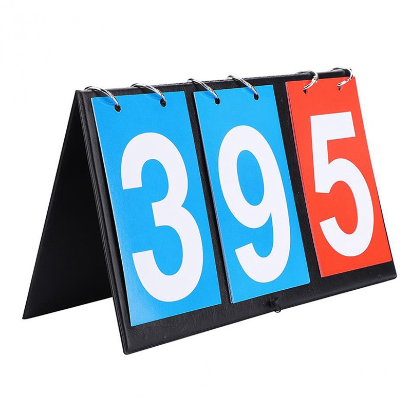 TOP! Three Digits Digital Scoreboard Sports Competition Scoreboard Table Tennis Basketball Badminton Football Volley Scoreboard|Outdoor Tools| |  - title=