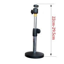 PMA-T8, Универсальный мини проектор, настольная подставка, поворот на 360 градусов, наклон на 90 градусов, нержавеющая сталь, регулируемая высота 22 см-29,5 см, 2 колонки